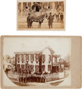 Photography:CDVs, Abraham Lincoln: Springfield Home Photographs.... (Total: 2 Items)