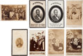 Photography:CDVs, Abraham Lincoln: Assorted Cartes-de-Visite.... (Total: 8 Items)