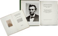 Photography:CDVs, Abraham Lincoln: Deluxe Meserve Photograph Album.... (Total: 2 Items)