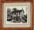 Political:Presidential Relics, Abraham Lincoln: Springfield Home Wood Relic....