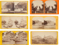 Photography:Stereo Cards, [Abraham Lincoln]: Mourning Period Stereo Views.... (Total: 6 Items)