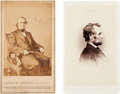 Photography:CDVs, Abraham Lincoln and Andrew Johnson: Cartes-de-Visite.... (Total: 2 Items)