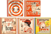 Bringing Up Father Group Platinum (Cupples & Leon, 1920s-30s) Condition: VG.... (Total: 5 Comic Books)