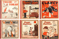 Platinum Age (1897-1937):Miscellaneous, Platinum Age Cupples and Leon Co. Group of 6 (Cupples and Leon Co.,1910s-20s) Condition: Average VG.... (Total: 6 Comic Books)