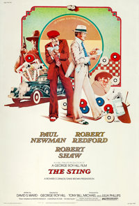 """The Sting (Universal, 1973). Poster (40"""" X 60"""")"""
