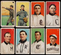 Baseball Cards:Lots, 1909-11 T206 Piedmont and Hindu (Brown) Southern Leaguers (8). ...