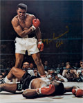 Boxing Collectibles:Autographs, 1980's Muhammad Ali Signed Photograph. ...