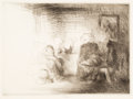 Prints, Edmund Blampied (British, 1886-1966). Group of Three Works. Etching on paper, each. 9-1/2 x 12-1/2 inches (24.1 x 31.8 c... (Total: 3 Items)
