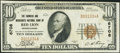 National Bank Notes:Pennsylvania, Red Lion, PA - $10 1929 Ty. 1 The Farmers & Merchants NB Ch. # 6708. ...