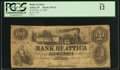 Obsoletes By State:Indiana, Attica, IN- Bank of Attica $1 Jan. 2, 1854 G2 Wolka 21-1. ...
