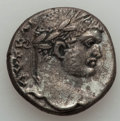 Ancients:Roman Provincial , Ancients: SYRIA. Damascus. Caracalla (AD 198-217). BIL tetradrachm(12.64 gm)....