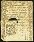 Colonial Notes:Connecticut, Connecticut June 1, 1780 2s 6d Fine.. ...