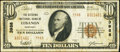 National Bank Notes:Kentucky, Lebanon, KY - $10 1929 Ty. 2 The Citizens NB Ch. # 3988. ...