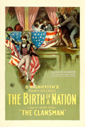 "Movie Posters:Drama, The Birth of a Nation (Epoch Producing, 1915). One Sheet (28"" X 42"").. ..."