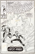 Original Comic Art:Covers, Sal Buscema Spectacular Spider-Man #167 Cover Original Art(Marvel, 1990)....