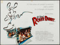 "Movie Posters:Animation, Who Framed Roger Rabbit (Warner Brothers, 1988). British Quad (30""X 40"") & German A1 (23.25"" X 33""). Animation.. ... (Total: 2Items)"