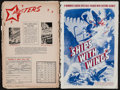 "Movie Posters:War, Ships with Wings & Other Lot (United Artists, 1942). Pressbooks(2) (Multiple Pages, 12"" X 18""). War.. ... (Total: 2 Items)"