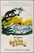 "Movie Posters:Animation, The Jungle Book & Other Lot (Buena Vista, R-1978). One Sheet (27"" X 41""). Animation.. ... (Total: 2 Items)"
