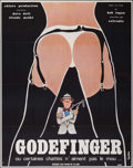 """Movie Posters:Foreign, Godefinger ou Certaines Chattes N'aiment Pas Le (Sofradis, 1975). French Grande (47"""" X 63""""). Foreign.. ..."""