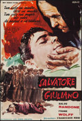 """Movie Posters:Foreign, Salvatore Giuliano & Other Lot (Rey Soria Films, 1962). Spanish One Sheet (26.5"""" X 39"""") & Italian Foglio (26.5"""" X 36.5""""). Fo... (Total: 2 Items)"""