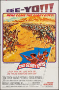 """Movie Posters:Western, The Glory Guys (United Artists, 1965). One Sheets (2) (27"""" X 41"""") Style A & B & Three Sheet (41"""" X 79""""). Western.. ... (Total: 3 Items)"""