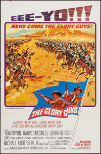 "The Glory Guys (United Artists, 1965). One Sheets (2) (27"" X 41"") Style A & B & Three Sheet (41""..."