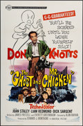 """Movie Posters:Comedy, The Ghost and Mr. Chicken (Universal, 1966). One Sheet (27"""" X 41""""). Comedy.. ..."""