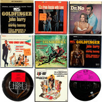 "James Bond Soundtrack Lot (Various, 1962-1978). Reel to Reel Tapes (17) (5.5"" X 5.5"" & 7.5"" X 7.5&quo..."
