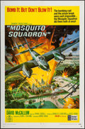 """Movie Posters:War, Mosquito Squadron (United Artists, 1969). One Sheet (27"""" X 41"""")& Lobby Card Set of 8 (11"""" X 14""""). War.. ... (Total: 9 Items)"""