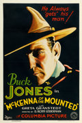 "Movie Posters:Western, McKenna of the Mounted (Columbia, 1932). One Sheet (27"" X 41"")....."