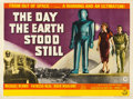 "Movie Posters:Science Fiction, The Day the Earth Stood Still (20th Century Fox, 1951). British Quad (30"" X 40"").. ..."