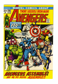 The Avengers #100 (Marvel, 1972) Condition: NM-