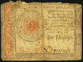 Colonial Notes:Continental Congress Issues, Continental Currency January 14, 1779 $60 Fine.. ...