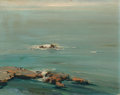 Fine Art - Painting, American:Modern  (1900 1949)  , John O'Shea (American, 1876-1956). Seascape. Oil on board.15-3/4 x 20 inches (40 x 50.8 cm) (sheet). Signed lower right...