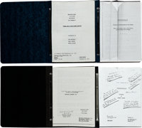 "Thunderball (United Artists, 1980s-1990s). Scripts (9) (9"" X 11.5"" & 9"" X 14.5""). ... (Total..."