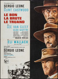 "Movie Posters:Western, The Good, the Bad and the Ugly (United Artists, R-1970s). French Affiche (23.5"" X 31.5""). Western.. ..."