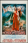 """Movie Posters:Fantasy, Clash of the Titans (MGM, 1981). Belgian (14.25"""" X 21.5""""), JapaneseSpeed (14.25"""" X 20.25"""") DS, Uncut German Lobby Card Set ... (Total:4 Items)"""