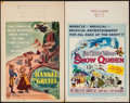 "Movie Posters:Animation, Hansel and Gretel & Others Lot (RKO, 1954). Window Cards (2) (14"" X 22""), Insert (14"" X 36""), One Sheets (3) (27"" X 41""), & ... (Total: 7 Items)"