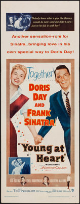 """Young at Heart (Warner Brothers, 1955). Insert (14"""" X 36""""). Musical"""