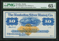 Obsoletes By State:Nevada, Austin, NV- Manhattan Silver Mining Co. $10 187_ . ...
