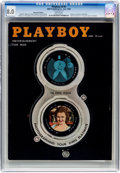 Magazines:Vintage, Playboy V5#6 Newsstand Edition (HMH Publishing, 1958) CGC VF 8.0 White pages....