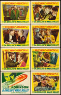 "Movie Posters:Drama, Dr. Ehrlich's Magic Bullet (Warner Brothers, 1940). Lobby Card Set of 8 (11"" X 14"").. ... (Total: 8 Items)"