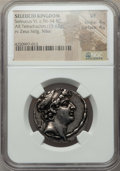 Ancients:Greek, Ancients: SELEUCID KINGDOM. Seleucus VI Epiphanes (96-94 BC). ARtetradrachm (15.62 gm)....