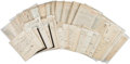 Autographs, Benito Mussolini Archive of Letters to Giuseppe Volpi ...