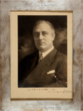 Autographs:U.S. Presidents, Franklin D. Roosevelt Photograph Signed and Inscribed to Eleanor Roosevelt. ...