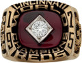 Baseball Collectibles:Others, 1975 Pete Rose Cincinnati Reds World Series Championship Salesman'sSample Ring. ...