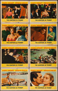 """Movie Posters:Hitchcock, To Catch a Thief (Paramount, 1955). Lobby Card Set of 8 (11"""" X14""""). Hitchcock.. ... (Total: 8 Items)"""