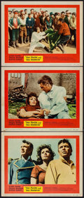 """Movie Posters:Adventure, The Pride and the Passion (United Artists, 1957). Lobby Cards (3)(11"""" X 14""""). Adventure.. ... (Total: 3 Items)"""