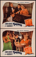 "Movie Posters:Comedy, Topper (Film Classics, R-1944). Lobby Cards (2) (11"" X 14""). Comedy.. ... (Total: 2 Items)"