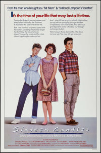 "Sixteen Candles (Universal, 1984). One Sheet (27"" X 41""). Comedy"